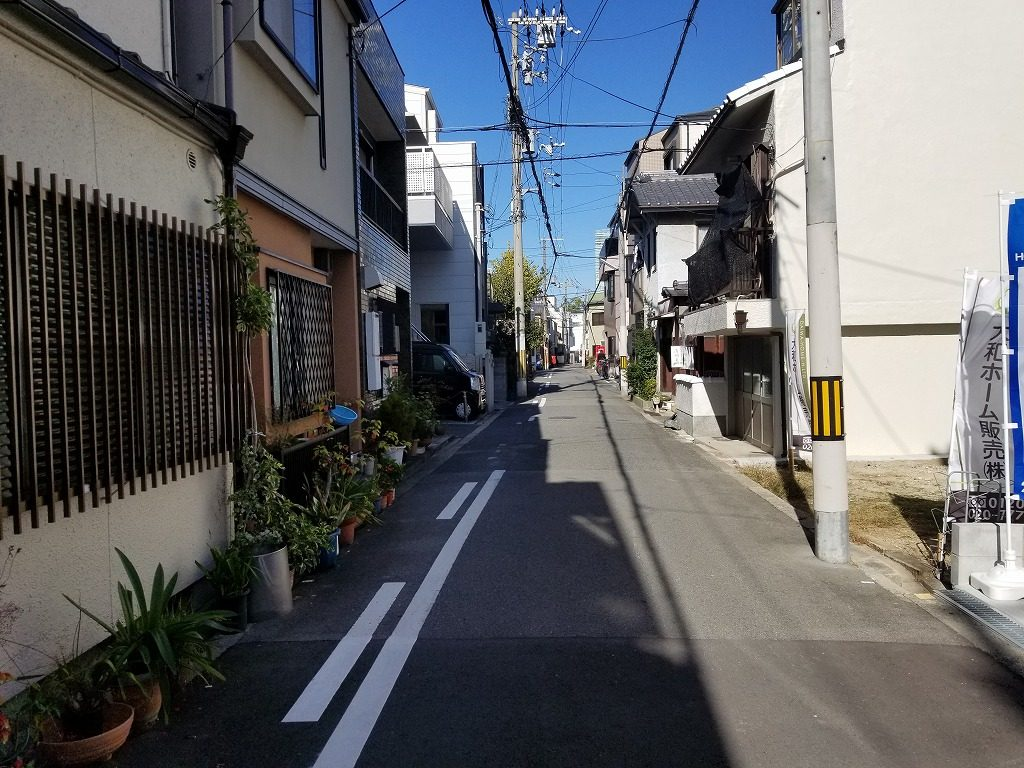 前道道路 阿倍野元町