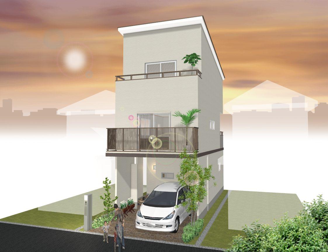 建物プラン例 イメージ図