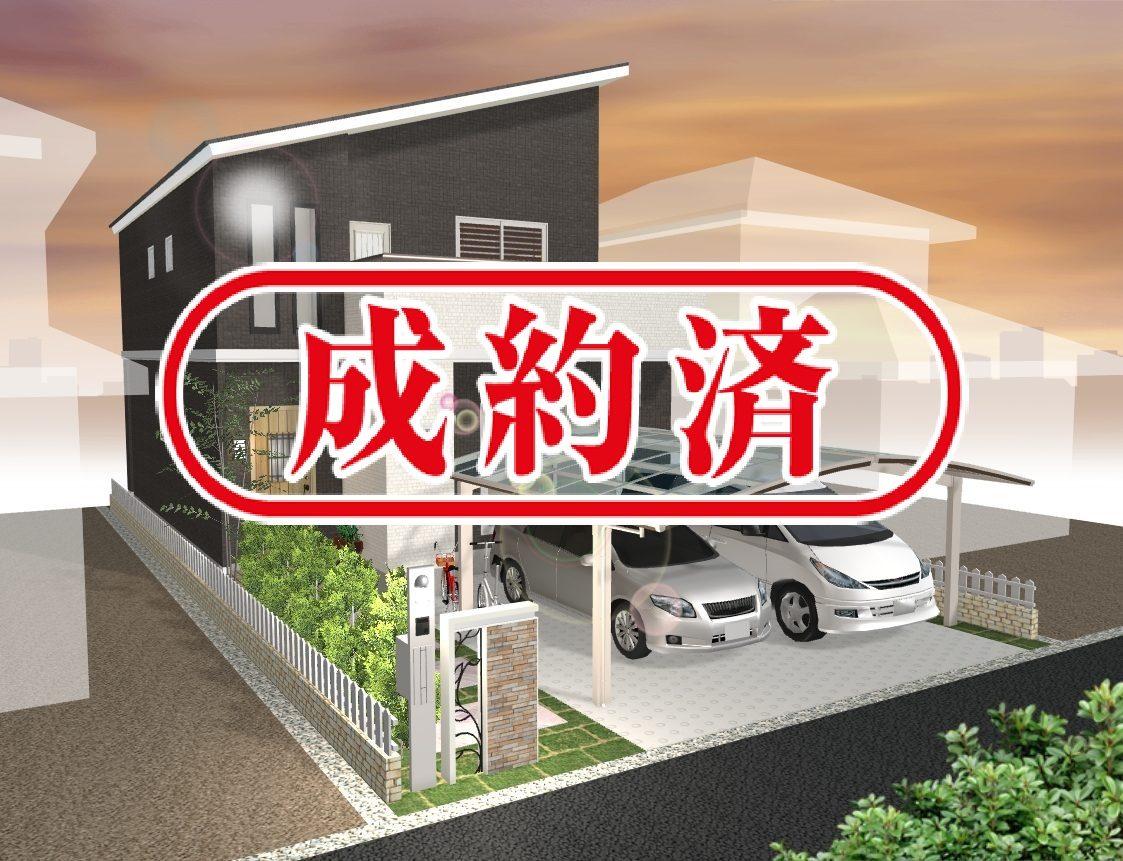 建物プラン例 イメージ図(カーポート・塀はオプションになります)