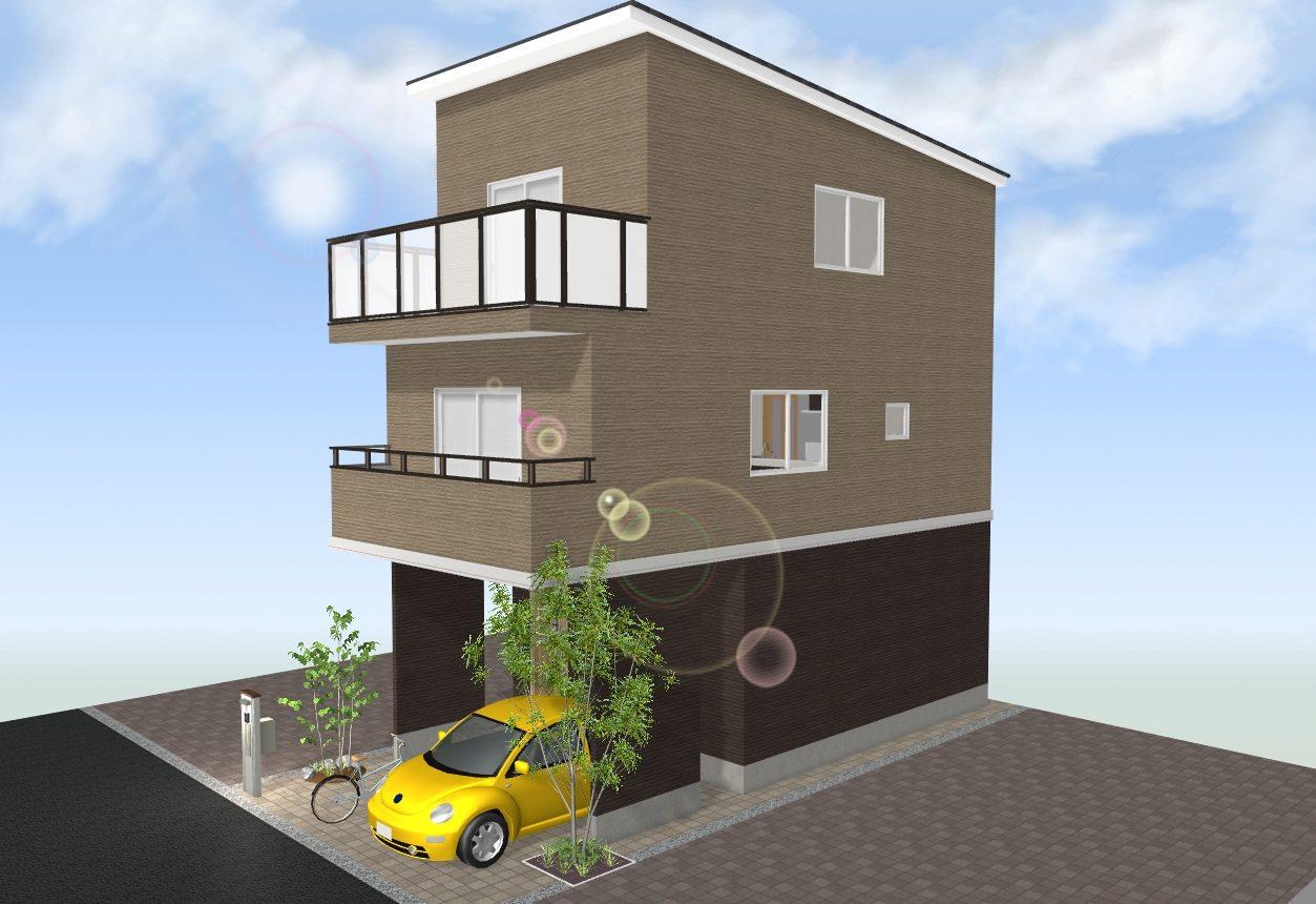 建物プランB例
