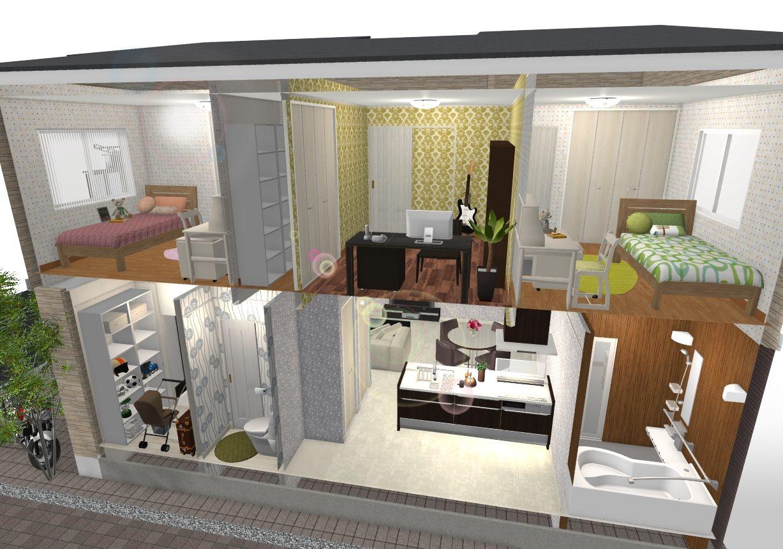 建物プラン例 内観イメージ図
